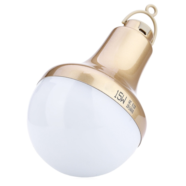 Super Bright Led Light Portable USB Powered 15W 800LM Smd 5730 LED Bulb for Camping Reading Fishing Led Lamp