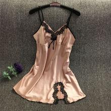 Free Shipping2016 New  summer style Nightgown Nightdress pijama Ladies Sleepwear Women nightwear AZ790