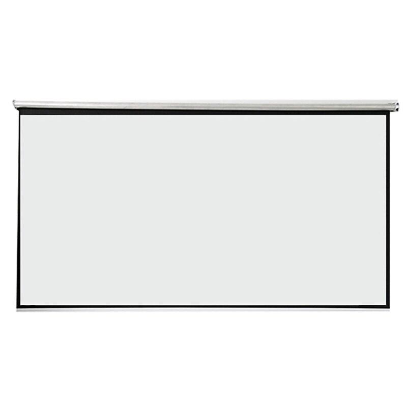 Thinyou 100 inčni 16: 9 bela tkanina prenosni talni zaslon talni - Domači avdio in video - Fotografija 4