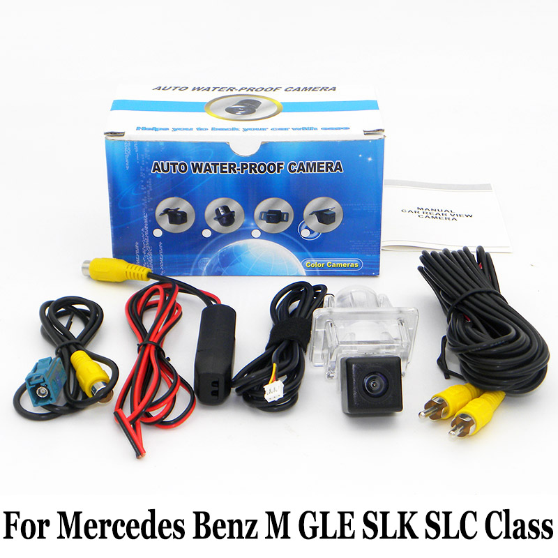 Car Parking Camera For Mercedes <font><b>Benz</b></font> M GLE <font><b>SLK</b></font> SLC Class W166 <font><b>R172</b></font> / HD Auto Night Vision Rearview Camera / RCA 6 Meters Wire image