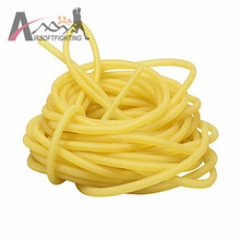 2*4mm 2*5mm 4*6mm 3*6mm Natural Latex Rubber Tube 5m Tubing Slingshot Hunting Catapult Elastic Part Fitness Bungee