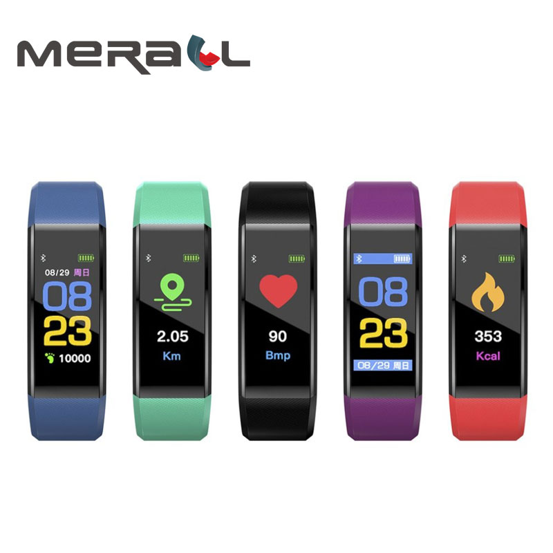 Multifunction Smart Wristband Blood Pressure Monitor Heart Rate Monitor Digital Tensiometers Measuring Device Sphygmomanometer