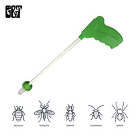 Critter Catcher Long Handled Insect Grabber Convenient Catch/Release Spiders and Insects Traps Gardening Supplies Pest Control
