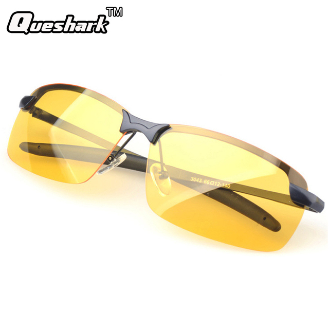 262c34fae4 Professional Aluminum Magnesium Frame Polarized Lens Night Vision Driving  Glasses Reduce Glare Tactical Military Cycling Glasses