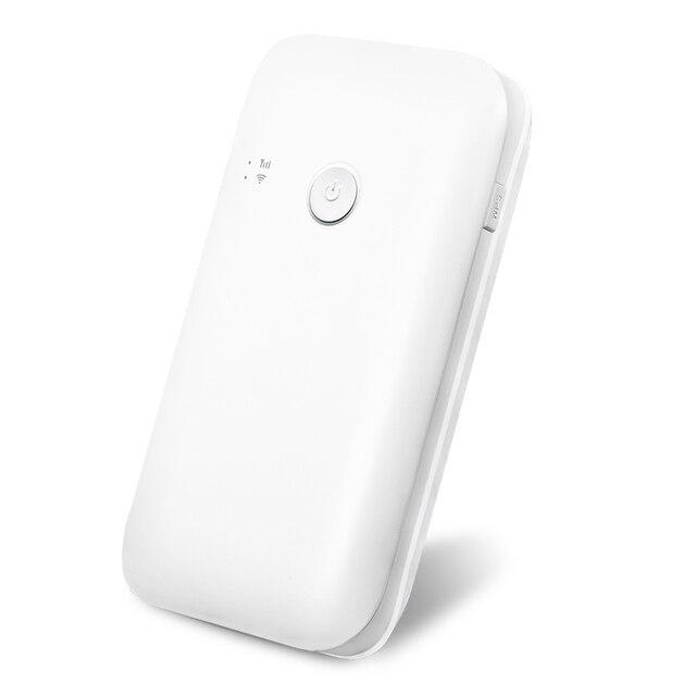 150 Mbps 4G LTE Wifi Router 10400mah Battery Power Bank With Sim Mobile Hotspot Car Mifi Modem Portable Broadband