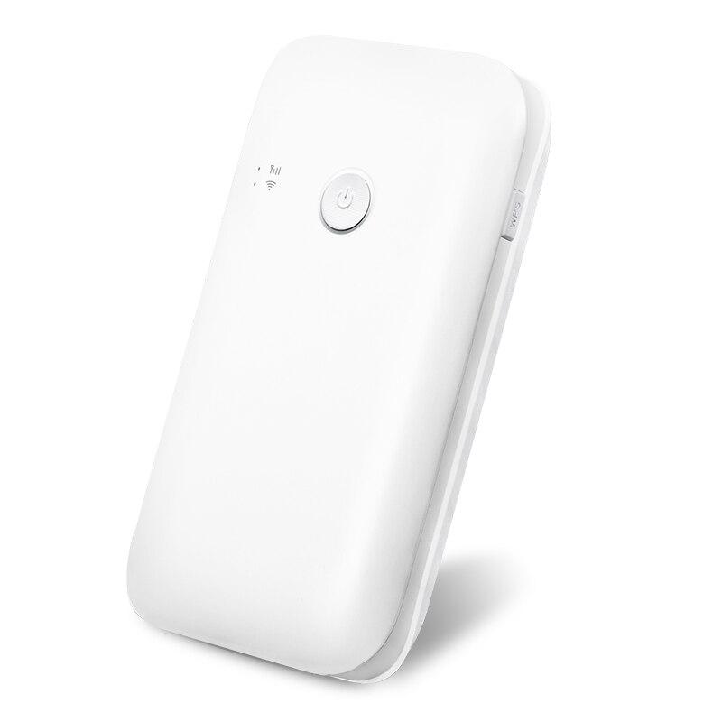150 Mbps 4G LTE Wifi routeur 10400 mah batterie externe avec Sim Mobile Hotspot voiture Mifi Modem Portable haut débit