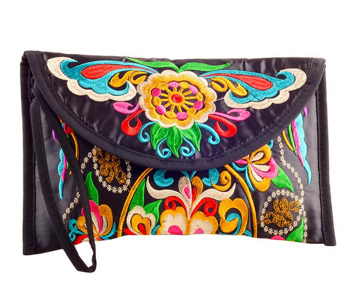 new national ethnic  embroidery embroidered Coin purse women's handmade small cloth wallet phone bag vintage embroidery women flats chinese floral canvas embroidered shoes national old beijing cloth single dance soft flats