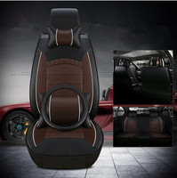 Best Quality Full Set Car Seat Covers Steering Wheel Cover For Volvo S60 2018 2011 Comfortable