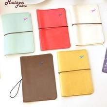 Maison Fabre Kreditkarteninhaber Männer Frauen Neue Reise Leder Passinhabers Kartenetui Schutzhülle Brieftasche Tasche