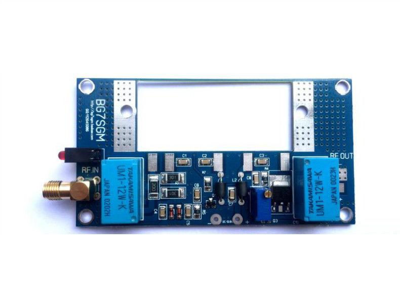 DYKB Radio RF Power Amplifier Board Transceiver conversion max 70W for RA30H4047M RA60H4047M Ham VHF walkie-talkie