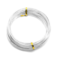 10 Silver Plated Aluminum Wire Craft Diy Jewelry Making For Bracelets Necklaces DIY Crafts Jewelry Making