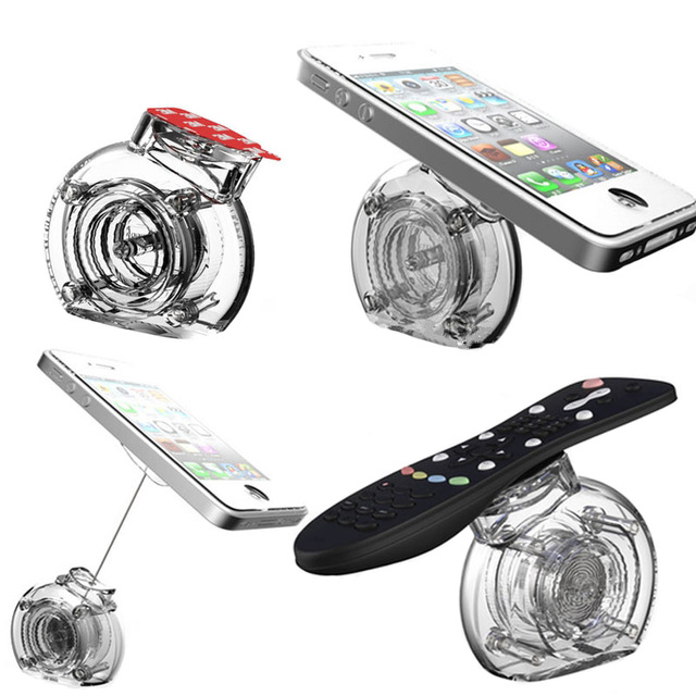 250 pcs retractable Acrylic mobile phone display stand cell phone security holder anti-theft pull box for all retail electonics low price for 2 pcs hotel 3m retractable belt vip crowdcontrol retractable tensa barriers queue way post