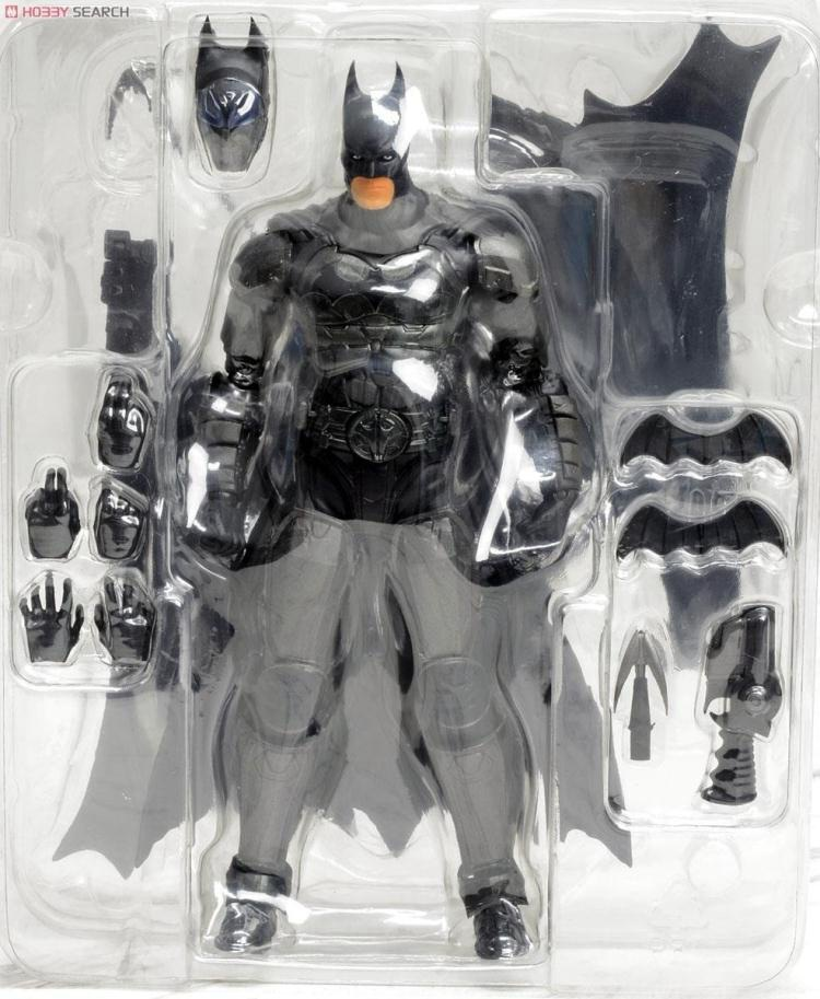 Batman Play Arts Kai Figma 7 Inch The Dark Knight Arkham Knight superhero Pvc action figures toy Figuras kids Brinquedo hot toys free shipping superhero batman the dark knight rises pvc action figure toy 8 20cm