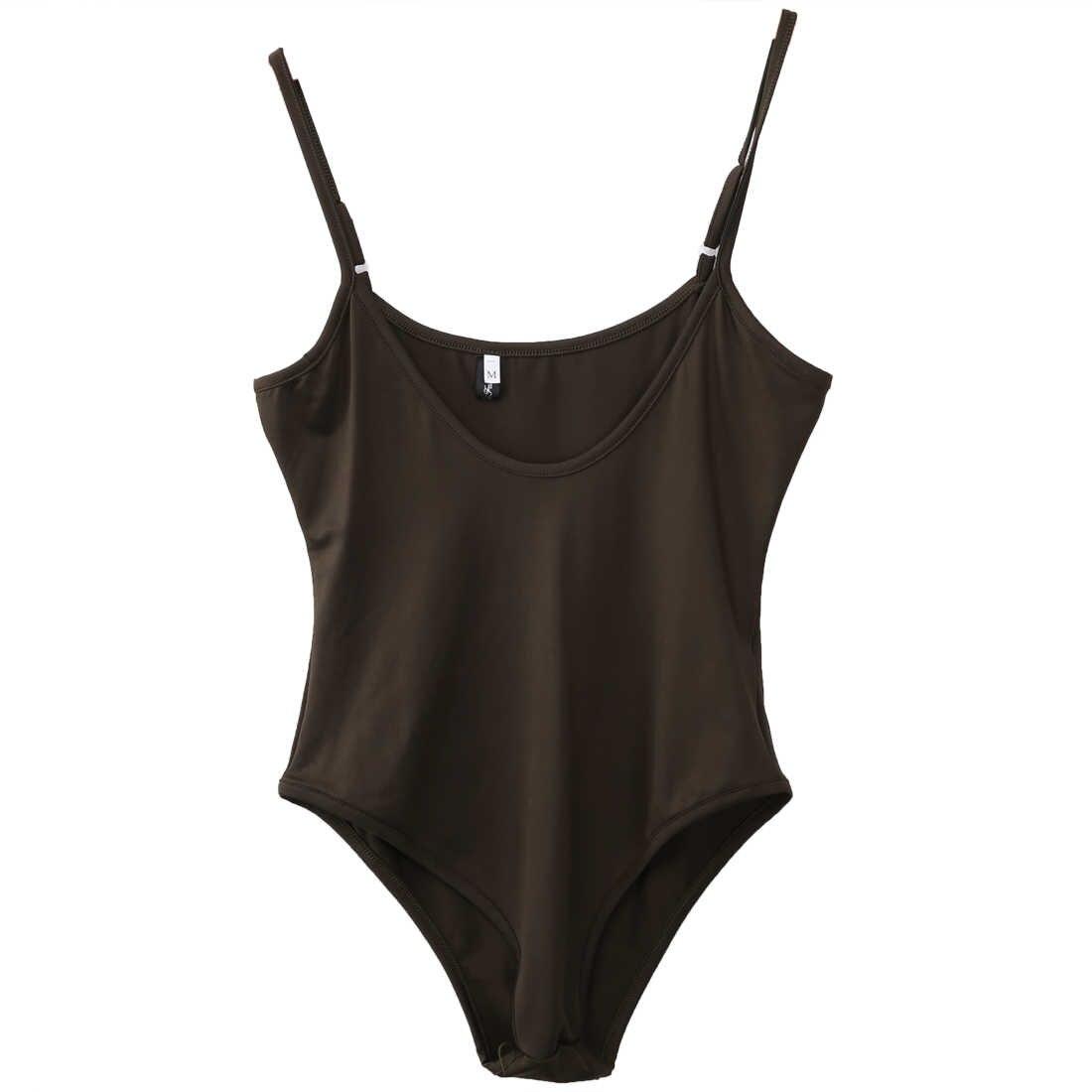 セクシーな女性vネックノースリーブボディコン包帯水着ボディスーツジャンプスーツスリム固体水着