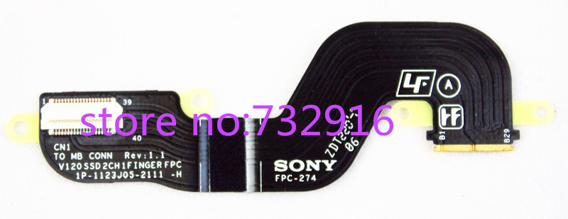 ФОТО Free shipping FPC-274 1p-1123j05-2111-H V120SSD2CH1FINGER FPC for svs13 ssd cable