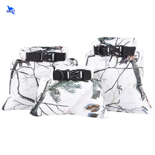 Snow Camo Portable 3pcs/Set Foldable Easy Carry Waterproof Canoe Floating Boating Kayaking Camping Dry Bag Sack Pouch Beach Bag
