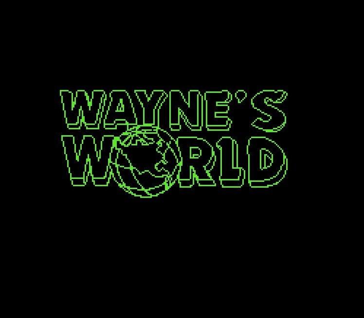 Wayne's World Game Card For 72 Pin 8 Bit Game Player