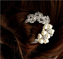2017 NEW Lovely Vintage Crystal Hair Clips Hairpins For Hair Clip Beauty Tools