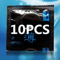 10 PCS bulk oil ultra - thin brand condoms Medical silica gel penis condoms adult sex toys for man products