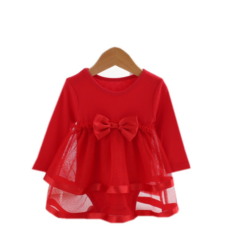 Lawadka-Cotton-Bow-New-Born-Baby-Dress-with-Baby-Rompers-Soft-Baby-Girls-Infant-Clothes-Jumpsuit-5