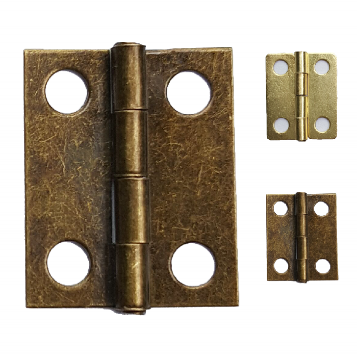 200pcs 18*15mm HInge Brass/Bronze Color Flat Wholesale Small Hardware for Wooden Box Case Cabinet Drawer Door Funiture Fix 10pcs gold mini butterfly door hinges cabinet drawer jewellery box hinge furniture hinge s diy hardware tools mayitr