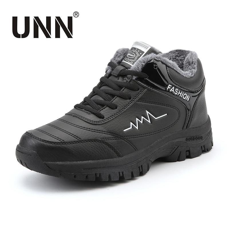 UNN Big Size 36-46  Mens Casual Shoes Men PU Winter Men's Flats Shoes With Fur Keep Warm Fashion Shoes Climbing Shoes Fleeces jyrhenium big size 34 46 men s casual