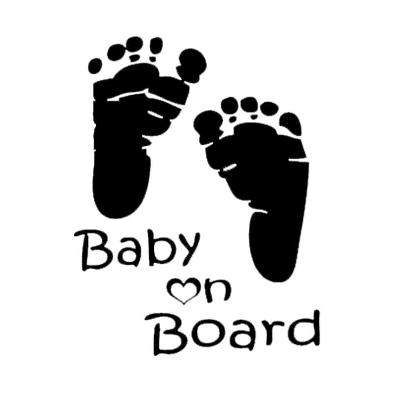 HotMeiNiPopular Baby on Board car window decal Car Sticker
