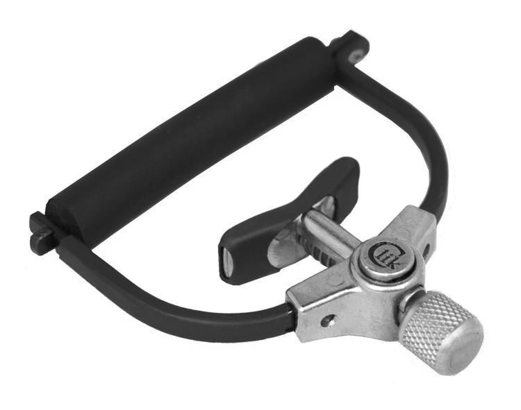Paige Clik Electric Guitar Capo, Extreme String Bending with Direct Center-tension Design Quick-release, and Finish-safe Tubing hot 8x meideal capo10 acoustic electric guitar quick change trigger capo clamp black