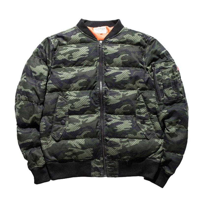 Парка с воротником, камуфляжная мужская одежда ВВС, узор, хлопок, со стоячим принтом, на молнии, повседневная, без зимы, мужская куртка, 2019, но... - 3
