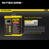 New Version Nitecore NEW i2 Automatic Smart Compatible Universal Battery 18650 Charger AA for Portable Lights