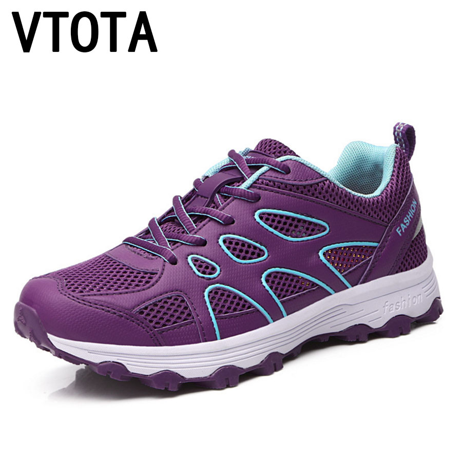 VTOTA Women Sneakers Women Lace-Up Casual Shoes 2018 Spring Platform Wedges Shoes Mesh Tenis Feminino Casual Shoes Woman G93 casual shoes woman sneakers 2018 new spring fashion with breathable mesh women shoes tenis feminino light lace up shoes ladies