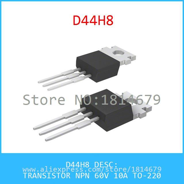 D44H8  TRANSISTOR TO-220  D44H8