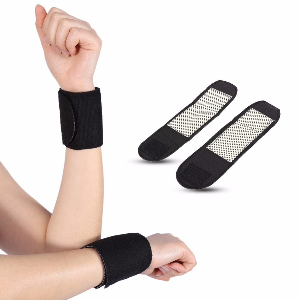 Tourmaline Self-heating Wrist Brace Support Magnetic Therapy Sport Wrist Wrap Protector Massager Pain Relief Wrist Support Band