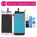 """Высокое качество 5.0 """"для Acer Liquid Jade Z S57 ЖК-Дисплей + Сенсорный Экран Замена Digitizer Ассамблеи + Инструменты Бесплатная Доставка"""