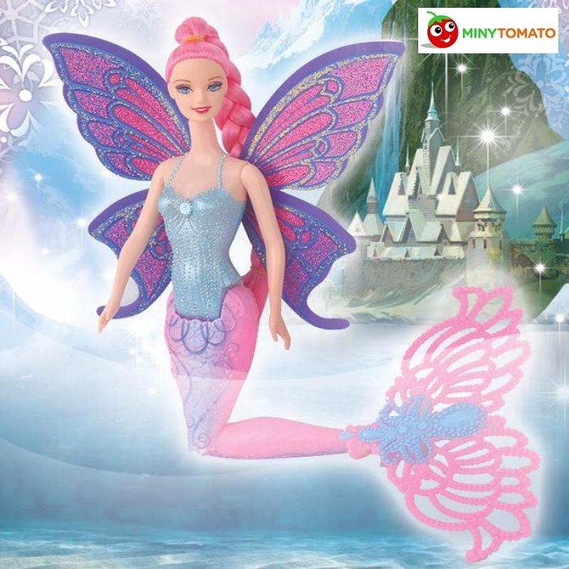 Free Ship New Fashion Doll Moxie Girls Magic Mermaid Doll Girls Toys Anime Classic Toys Birthday Gift Withno Box