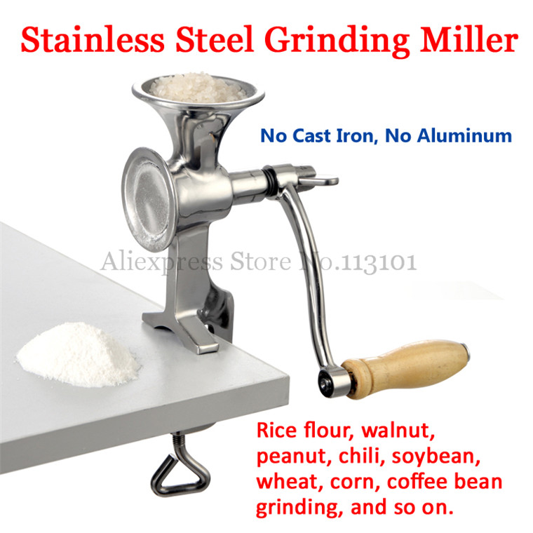 Grinding Machine Stainless Steel Grinder Miller Walnut Peanut Pulverizer Kitchen Ware Tool for Fresh Ground Coffee