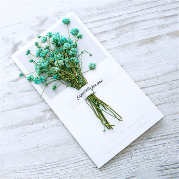 1pcs Lovely Dried Flowers Paper Envelopes Craft European Style Envelope For Card Mail Shipping Supplies Scrapbooking Gift 1