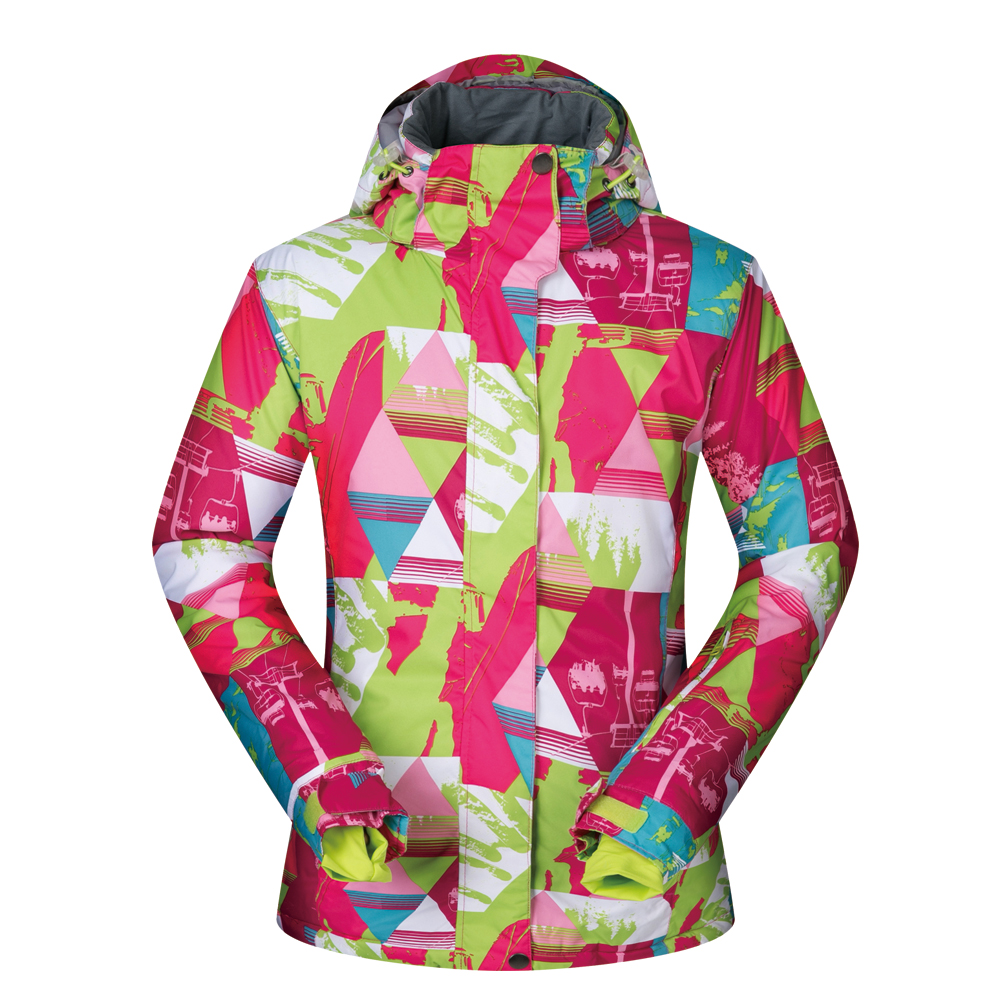 Ski Jacket Women Winter 2018 New Snow Coat Ski Clothes LC Female Windproof Waterproof Warm Skiing And Snowboard Jacket Brands extra thick ski synthetic jacket warm hood snow sport men winter coat women skiing snowboard outdoor clothes waterproof 2019 new