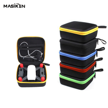 MASiKEN Mini EVA Hard Carry Case Bag for DJI Spark Drone Quadcopter Accessory HandBag Pouch Storage Shell Box Handheld Suitcase