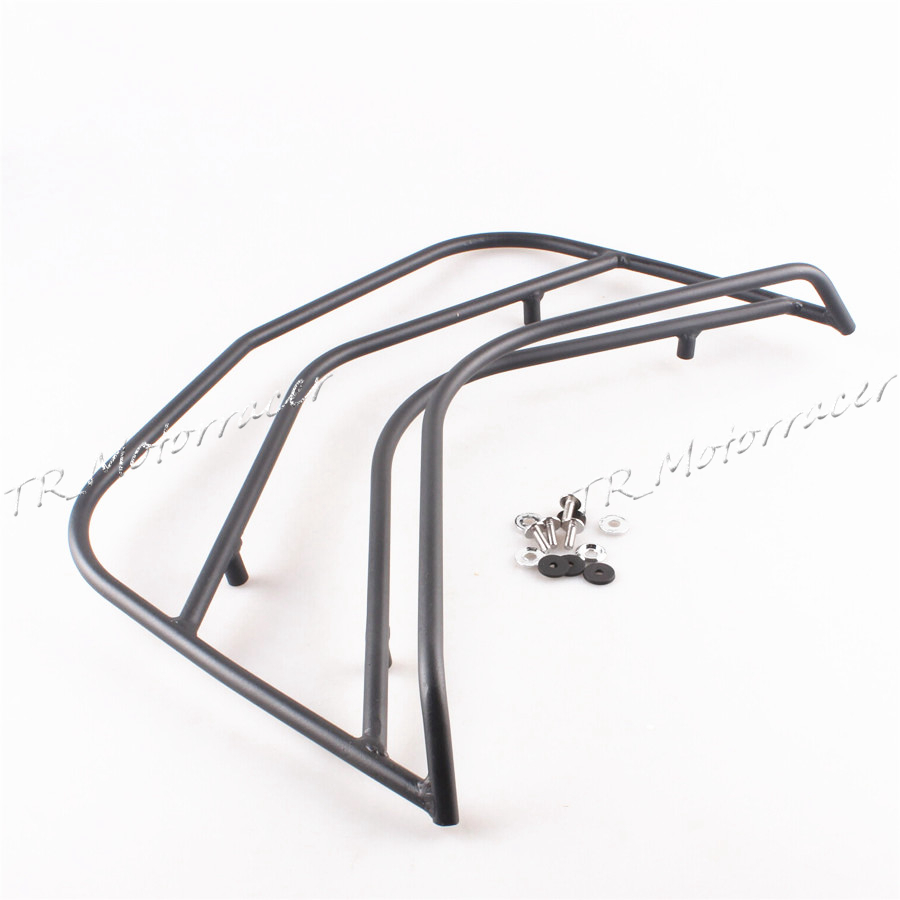 Rear Top Box Trunk Rack Luggage Rack For BMW K1600GTL 2011 2012 2013 2014 Motorcycle Baggage Holder  Black car rear trunk security shield shade cargo cover for nissan qashqai 2008 2009 2010 2011 2012 2013 black beige