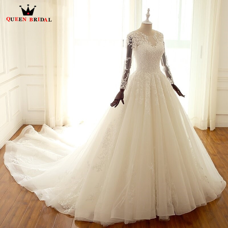 Wedding Dressing Gowns Personalised: Aliexpress.com : Buy Custom Made Ball Gown Long Sleeve