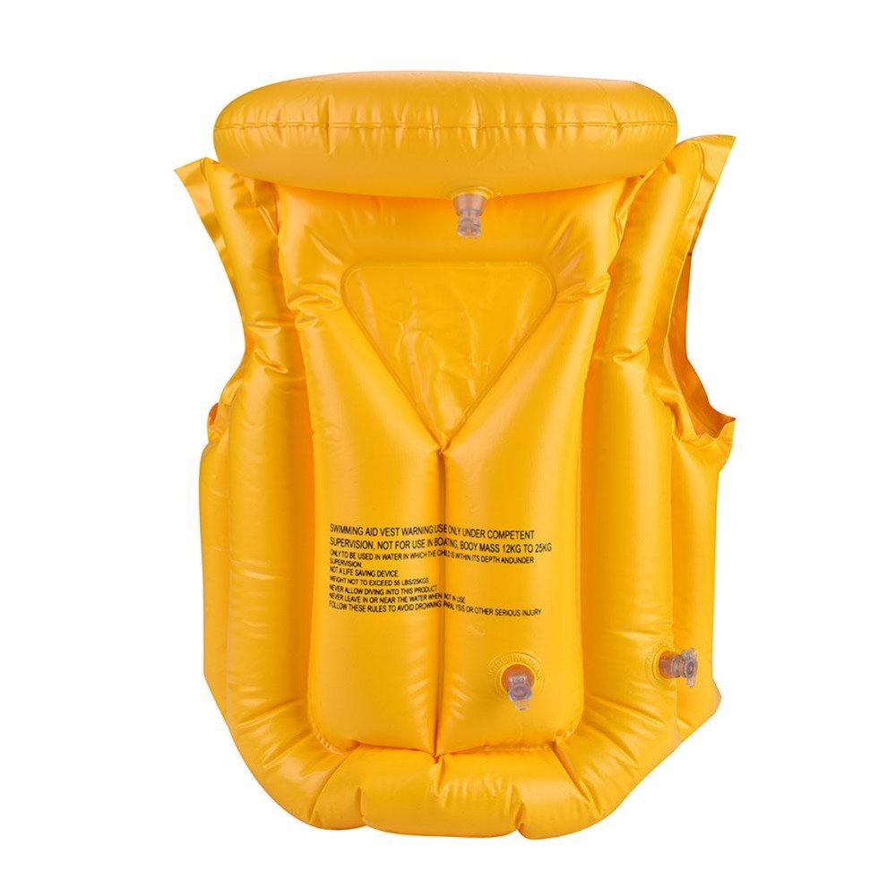 Back To Search Resultshome & Garden Summer Children Inflatable Swimming Life Jacket Buoyancy Safety Jackets Boating Drifting Lifesaving Vest Life Waistcoat 3 Colors Party Diy Decorations