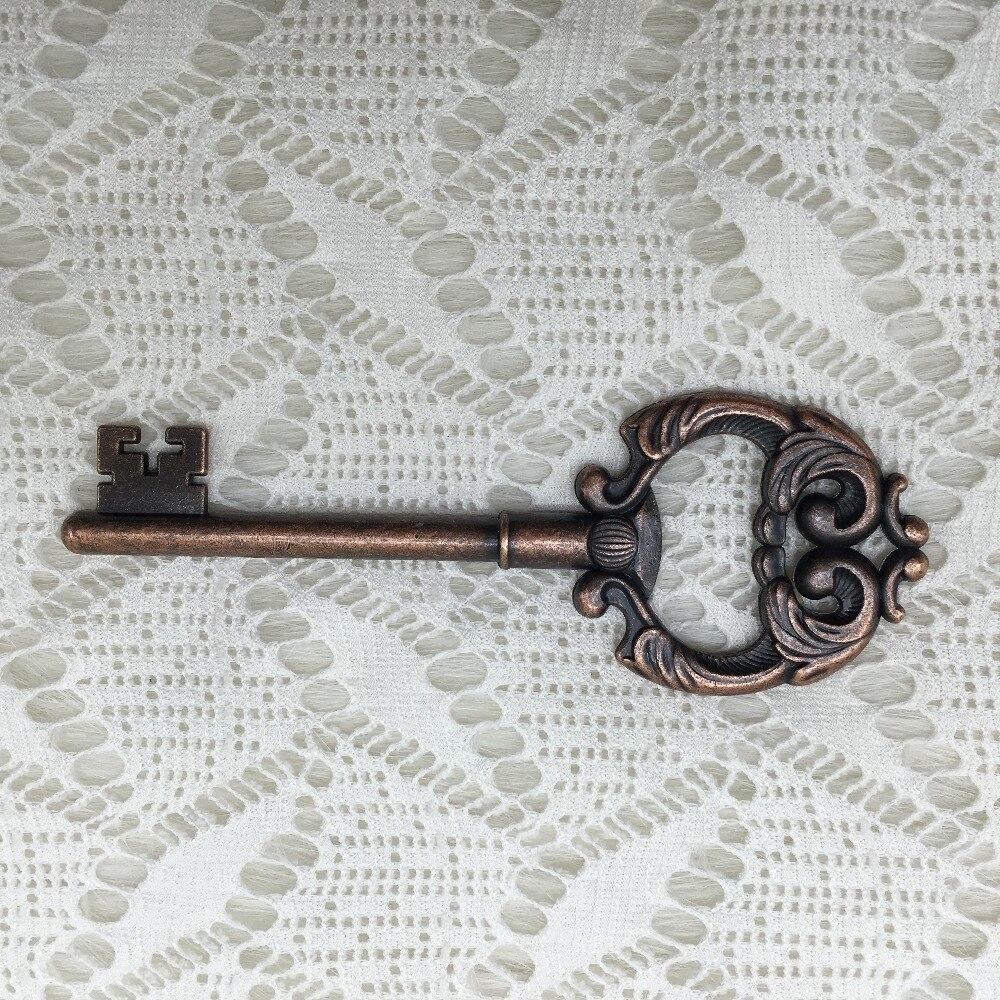 50pcs/lot Wedding Favors Bridal Shower Gift Antique Copper Heavy ...