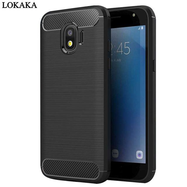 the latest 43e39 a02fa US $4.99 |LOKAKA Cover Case For Samsung galaxy J2 Pro 2018 J2Pro 5.0'' Back  Full Protect Phone Bags Cases For Samsung galaxy J2 Pro(2018)-in Fitted ...
