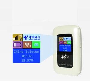 Image 4 - סמארטפון 2100 mAh 3G/4G WIFI נתב 100 Mbps נייד Wifi Hotspot כיס חיצוני נסיעות נתב אלחוטי עם כרטיס ה SIM חריץ