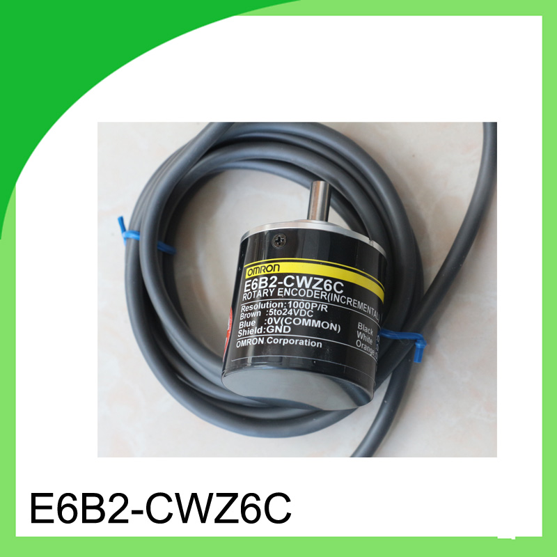 1pcs E6B2-CWZ6C 1000P/R for Omron Encoder / ABZ output Rotary Encoder dhl ems 2 lots new omron rotary encoder e6a2 cw3e 360p r good in condition for industry use a1 page 1