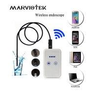 9mm Dia 1 2 3 5 5M Length Wireless Endoscope Mini Camera HD Wifi Waterproof Borescope