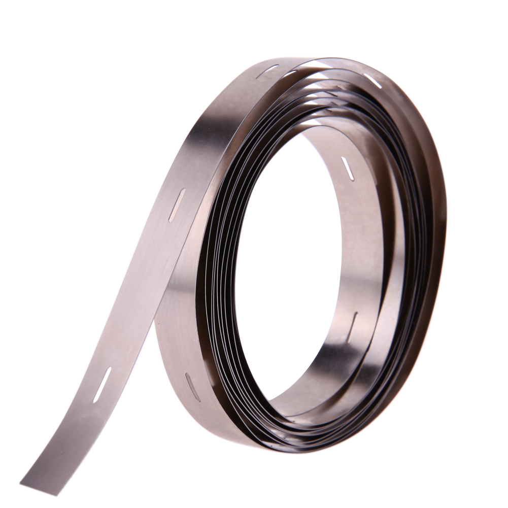 2M 0.2*10MM Ni Plate Nickel Strip Tape For Li 32650 Battery Spot Welding for Battery DIY Pack Assembly high quality 2 meter tape 8mm x 0 15mm spcc pure ni plate nickel strip tape strap for battery welding diy pack assembly page 2