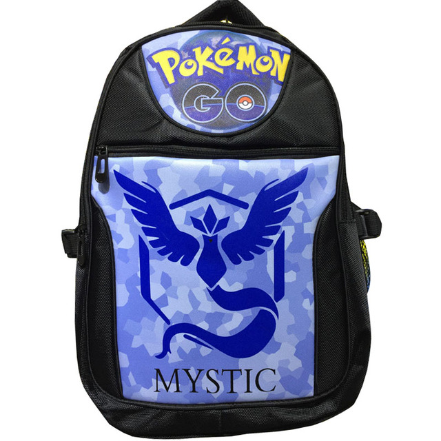 61520544bd Mobile Games Pocket Monster Laptop Backpack Double-Shoulder School Travel  Anime