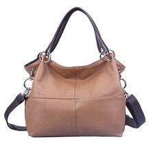 2017 New Retro Women Leather Handbag Design Female Black Shoulder bag Luxury Messenger Cross body bags